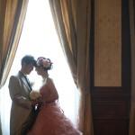 洋館|前撮り|ロケーション撮影|ドレス|カラードレス|ウェディングドレス