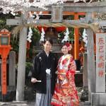 京都日和 桜 ロケフォト 和装000