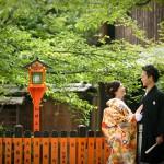 京都日和 新緑 ロケフォト 和装032