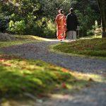 京都日和|紅葉|ロケフォト|和装|庭園_