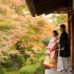 京都日和|前撮り|和装|京都|紅葉|寺|庭園|2018-1
