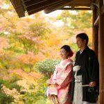 京都日和|前撮り|和装|京都|紅葉|寺|庭園|2018-4