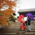 京都日和|前撮り|和装|京都|紅葉|寺|庭園|2018-42