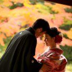 京都日和|前撮り|和装|京都|紅葉|寺|庭園|2018-8